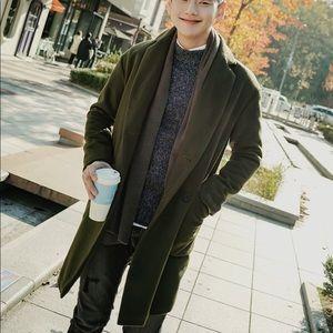 Korean brand wool coat jacket